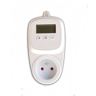 Plug-in thermostaat met klok