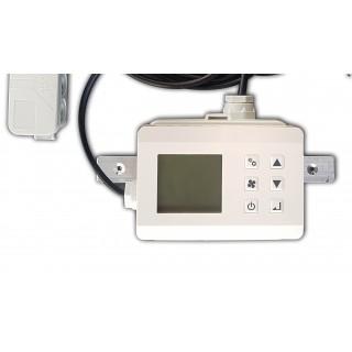 Hygro thermostaat met klok (compleet gebruikersklaar)